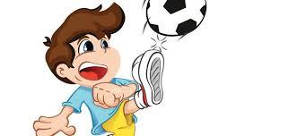 Nino Jugando Futbol Academia Silabas